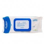 Mustela toallitas limpiadoras con perfume (70 toallitas recambio)