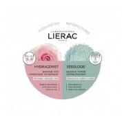 Lierac mascarilla hydragenist+sebologie 2x6ml
