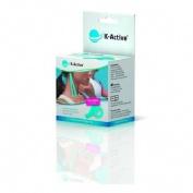K-active kinesiology tape - vendaje muscular (azul 5 m x 5 cm)