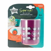 Tommee tippee vaso antivuelco +6m rosa