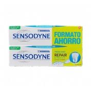 Sensodyne duplo repair protect