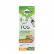 Juanola tos spray bucal (sabor miel mentolada 120 ml)