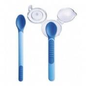Mam heat sensitive spoon & cover - mam cuchara con puntas sensibles al calor