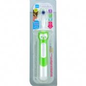 Cepillo dental infantil aprendizaje - training brush (5+m verde 1 u)