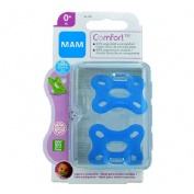 Chupete silicona - mam comfort an (0+ m pack doble)