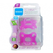 Chupete silicona - mam comfort rn (0+ m pack doble)