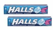 Caramelos halls s/a eucal ment20x9 (fede)