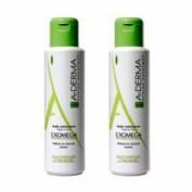 A-derma exomega control aceite limpiador - emoliente (500 ml 2 envases)