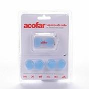 Tapones oidos silicona moldeable - acofarma (6 u)