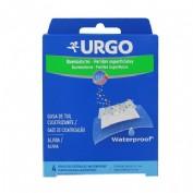 Urgo quemaduras waterproof (apositos 10 x 7 cm 4 u)