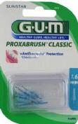 Cepillo interdental recambio - gum 614 proxabrush (1.6 conico 8 u)