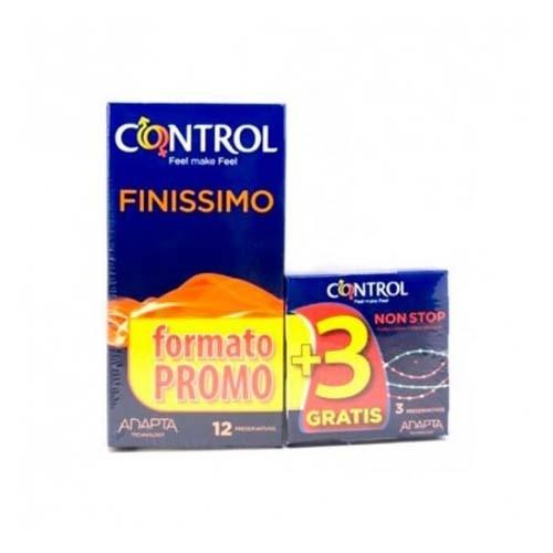 Control finissimo - preservativos (12 unidades)