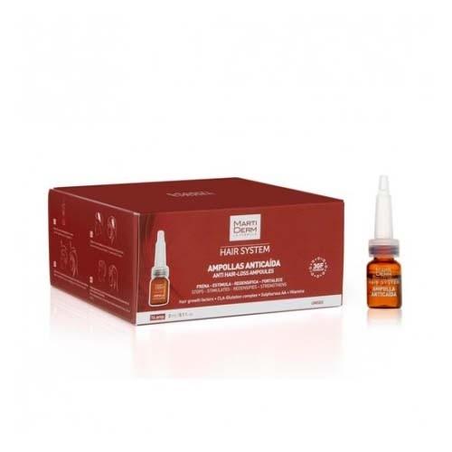 Martiderm ampollas anticaida (14 ampollas 3 ml)