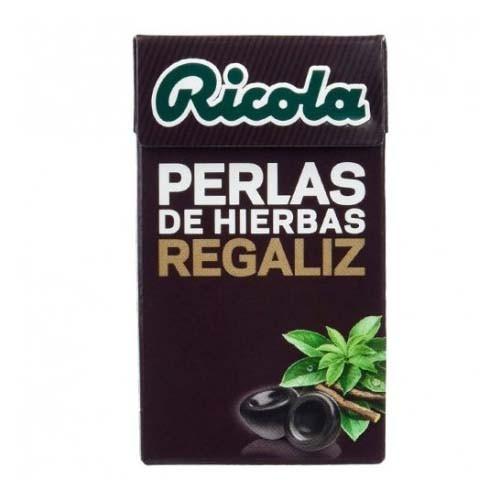 Ricola perlas sin azucar (regaliz 25 g)