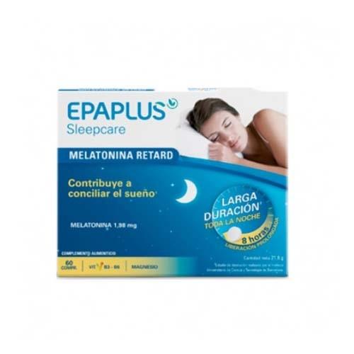 Epaplus sleepcare melatonina retard (60 comprimidos)