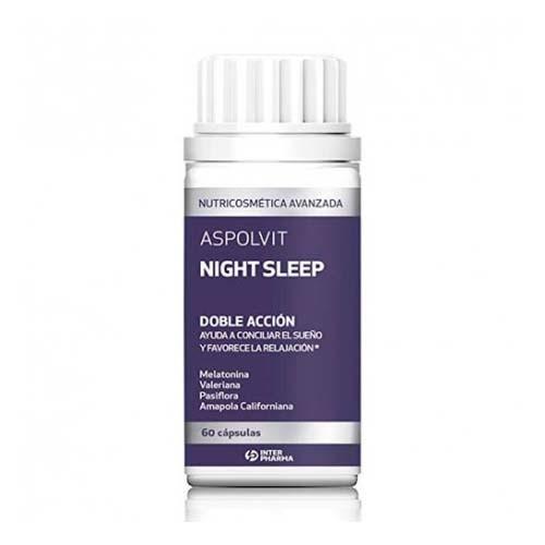 Aspolvit night sleep (10 capsulas)
