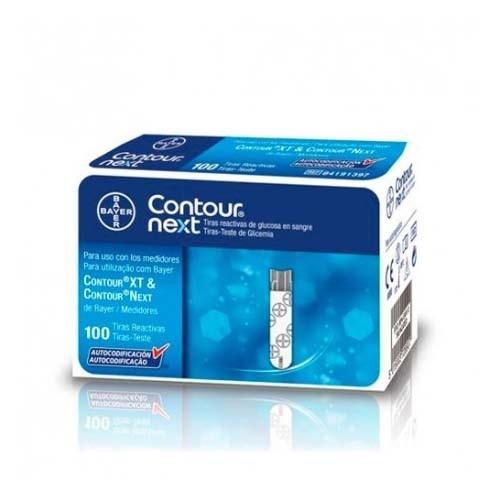 Tiras reactivas glucemia - contour next (100 unidades)